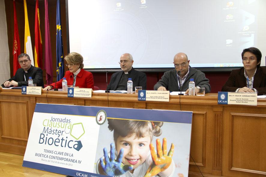 La UCAM celebra las Jornadas de Bioética