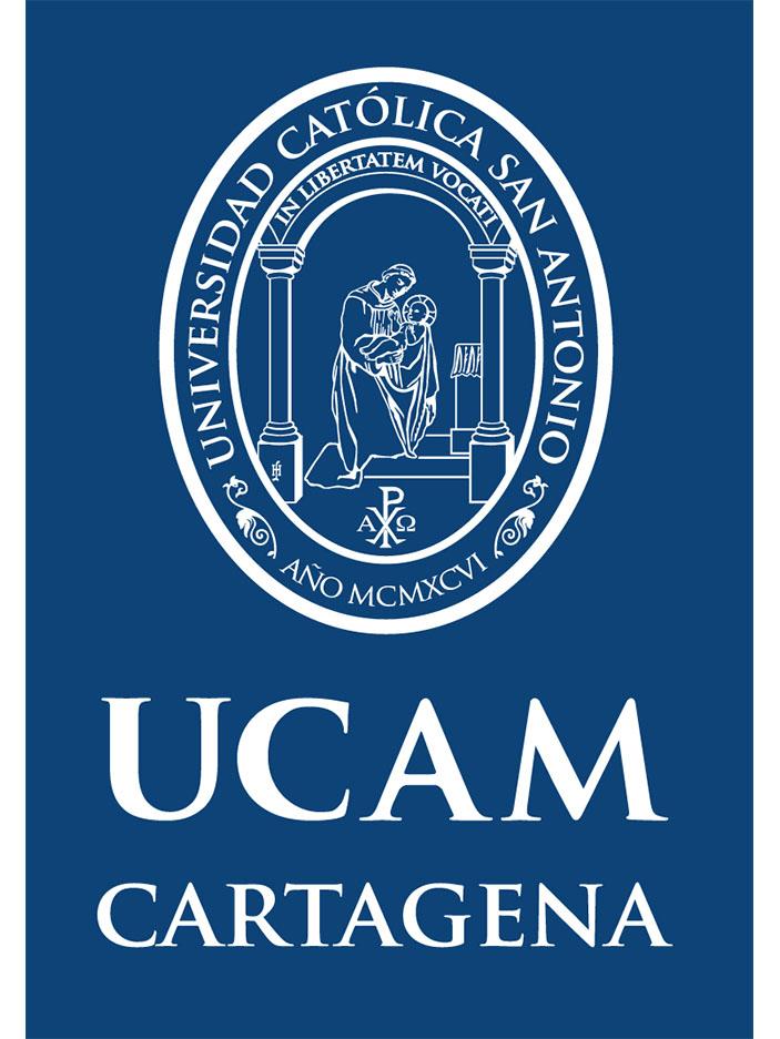 Logo UCAM Vertical Azul