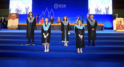 Graduación Facultad Comunicación UCAM 21