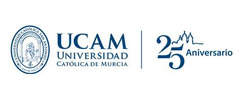 Logo UCAM cuadrado azul