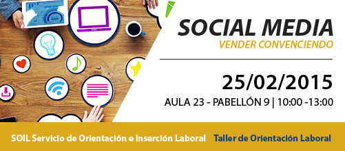 "Taller ""Social Media. Vender convenciendo"""