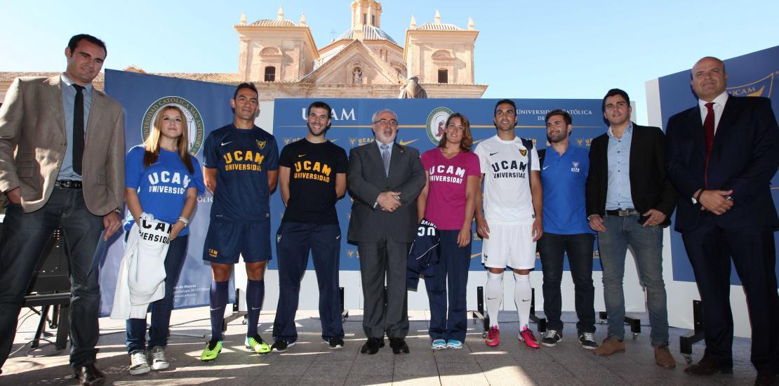 Vegetación herida Hacer  La UCAM presenta sus nuevas equipaciones deportivas de Nike | UCAM  Universidad Católica de Murcia